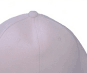 2015 new high quality 100% cotton white baseball caps ourself factory