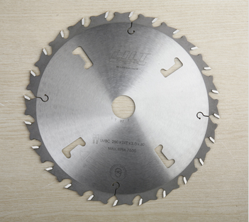 tungsten carbide teeth saw blade for MDF and chipboard