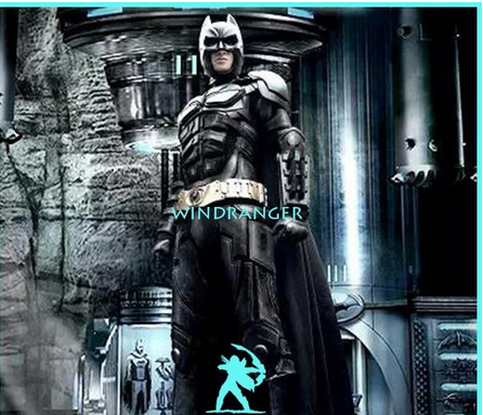 Windranger - Bat man mascot costume