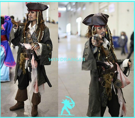 Windranger - Realistic cosplay pirate costume