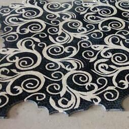 Art marble mosaic tile - perfect interlocking
