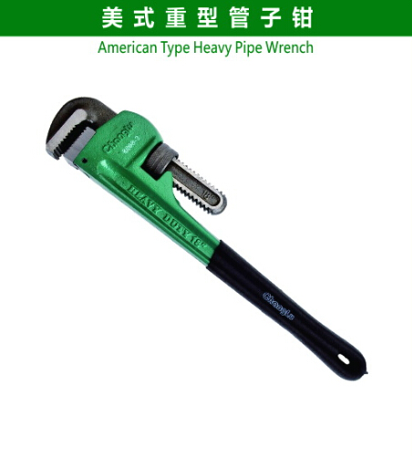 American Type Heavy Pipe Wrench