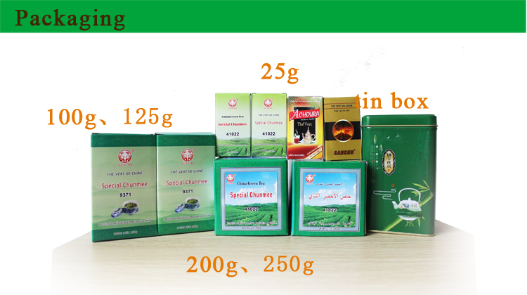 China green tea factory chunmee (41022AAA, 41022A, 9371, 9367, 9380, etc)