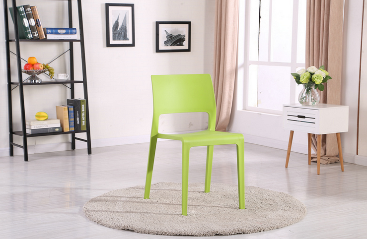 PP style colorful dining room chair