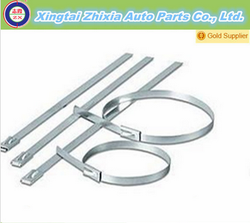 ZX Self Locking Stainless Steel Cable Ties with 201,304,316 material