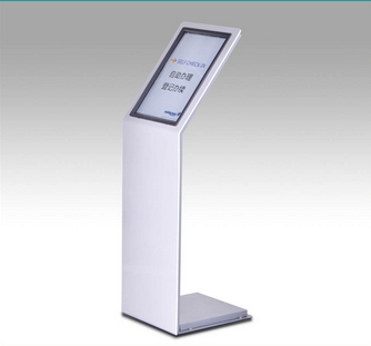 Directional display poster stand