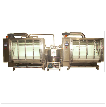 Grain chocolate molding polishing machine