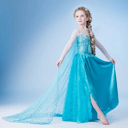 wholesale child clothes gambar sex frozen elsa dress for kids