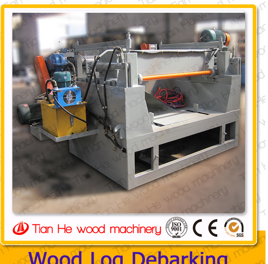 Tianhe 4ft and 8ft wood veneer peeling machine/spindleless veneer peeling machine