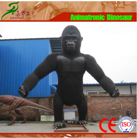 Giant realistic king kong animatronic plush model for sale