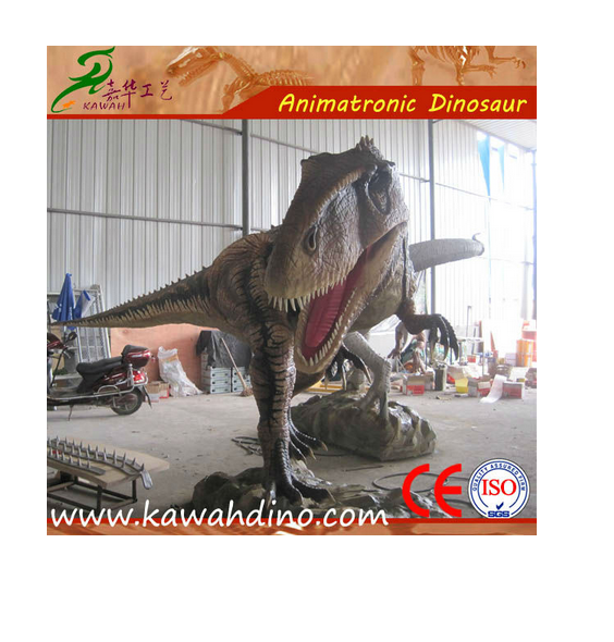 Theme park animated simulation dinosaur model costume