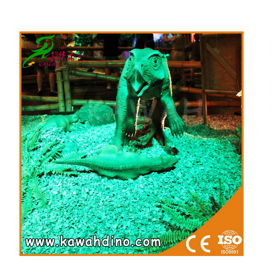 KAWAH Best Price outdoor attractive animatronic dinosaur for sale