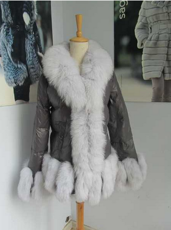 The latest style down jacket for women