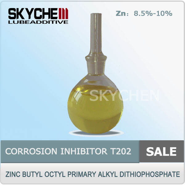 Corrosion Inhibitors T202 ZDDP Zinc Butyl Octyl Primary Alkyl Dithiophosphate Antioxidant preservatives