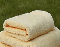 100% cotton solid terry bath towel