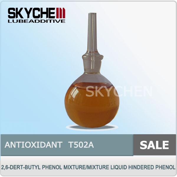 Oxidation And Glue Inhibitor T502A Mixture Liquid Hindered Phenol Lubricant additive