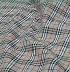 100% Cotton Plaid Twill Fabric for Shirt