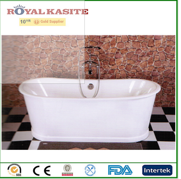 hot sale cast iron bateau hot tubs with skirt
