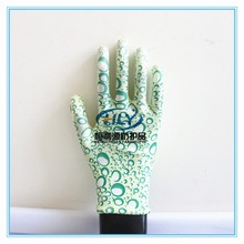 Factory wholesale price PU coated polyester women work gloves