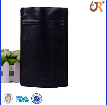 OEM Order High Quality Food Packaging Plastic Aluminum Foil Bag With Zipper