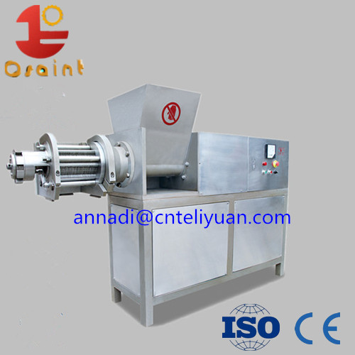 Fish meat separator meat collector