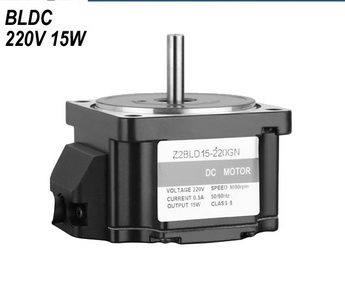 15W high speed high voltage brushless gear motor