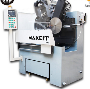 MAKEITangle snow blade of carbide saw blade sharpening machine-flank angle