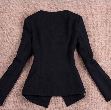 New Women's Fashion Long Sleeve Casual Slim Blazer Jackets OL Lady's Office Work Suits
