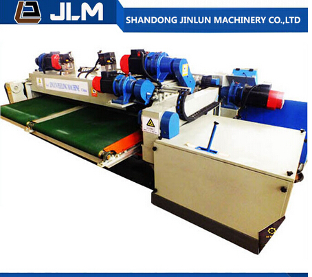China toplead Shandong JINLUN Brand 8 feet CNC wood veneer machine