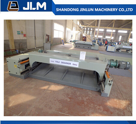 2015 China Overseas service center available log wood debarking machine / log debarker
