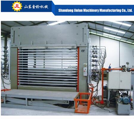 Wholesale China hydraulic veneer press machinery