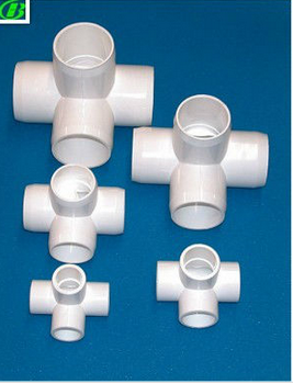 clear PVC for pipe pipe fitting