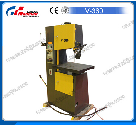 High Speed Small Vertical Metal Cut Band Saw Machine V-360