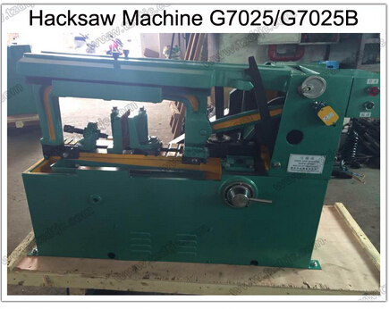 Supply Hacksaw Machine G7025 for Cutting Metal