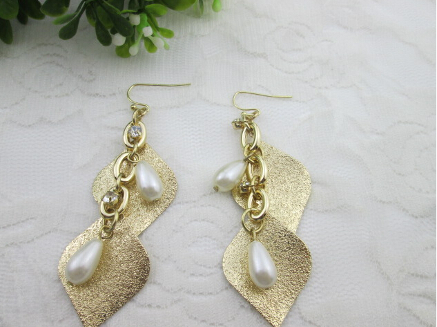 artificial handmade pearl earrings jewelry