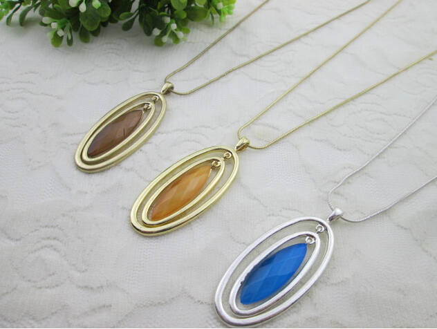 jewelry necklace popular vintage women cateye necklace