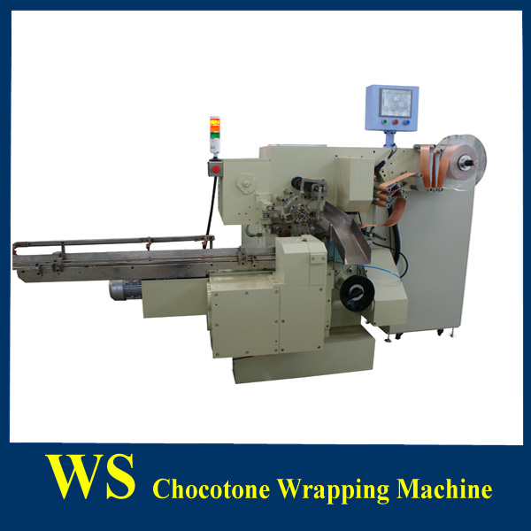 China Supplier High Speed Abnormal Shape Chocolate Packing Machine
