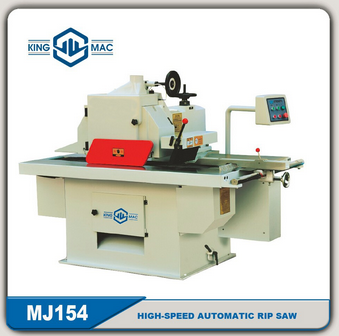 Woodworking High-speed Automatic Rip Saw Machine MJ154