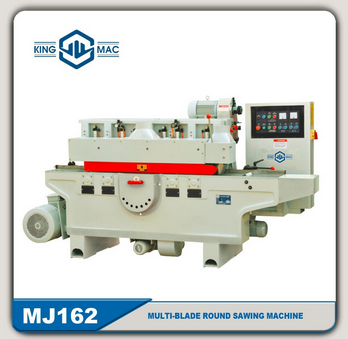 HOT SELL Woodworking MJ162 Multi-Blade circular Saw Machine