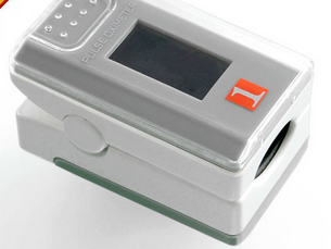 Portable Finger Pulse Oximeter with CE for blood testing
