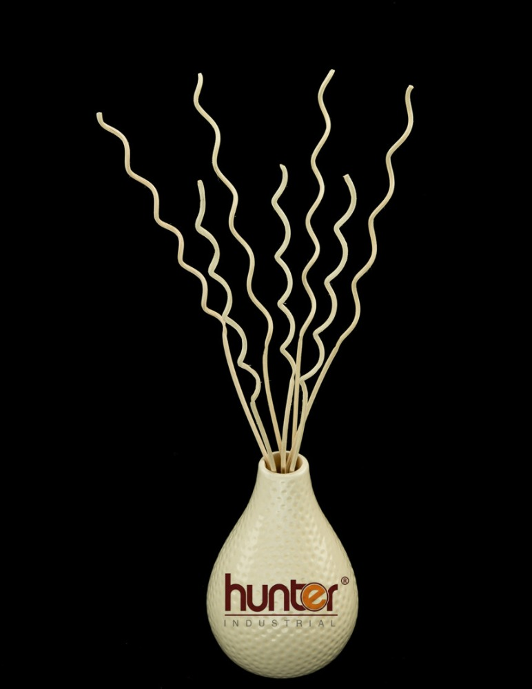 Water ripple curly diffuser for home deco & fragrance use rattan reed stick