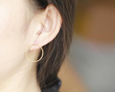 Fashion Women Jewelry Earrings Hot Circle Wire Earrings