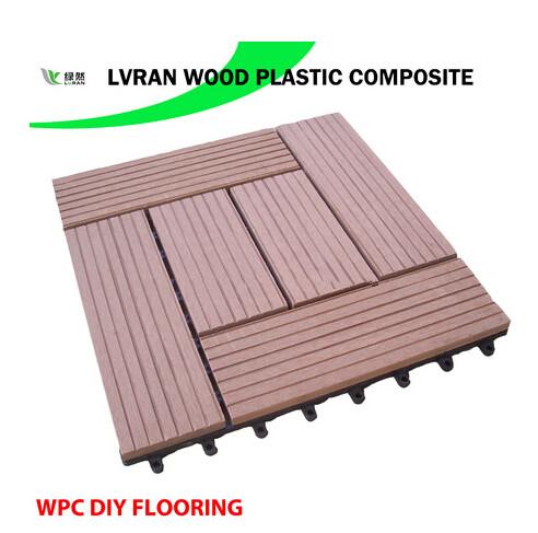 Wood Plastic Composite DIY Floor