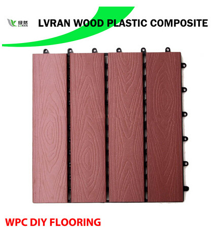 Wood Plastic Composite DIY Floor