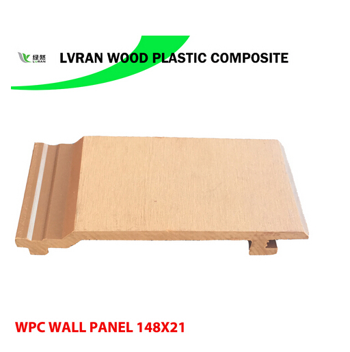 Environment Friendly 148X21 WPC Wall Panel