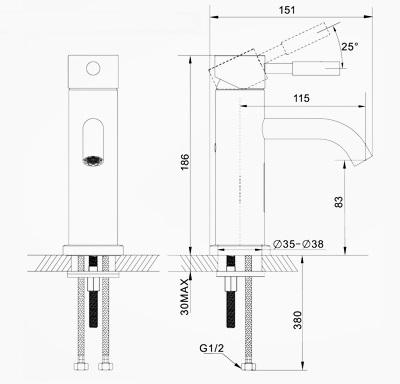 Basin Faucet(250604-03-LS)