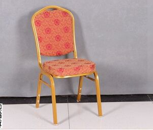 furniture banquet chair with gold painting GUOMIN CX-05
