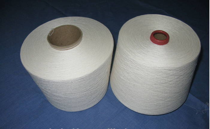 pure cheap slub Polyester /cotton yarn 45s