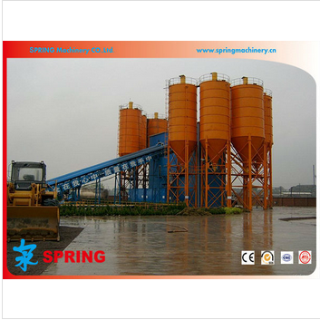 Design hot sell concrete batching plant for dubai