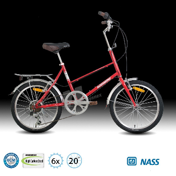 Fashion 20 inch city riding mixed leisure bicycle